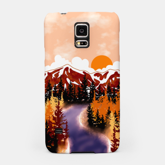 Thumbnail image of Smokey mountains Samsung Case, Live Heroes