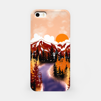 Thumbnail image of Smokey mountains iPhone Case, Live Heroes