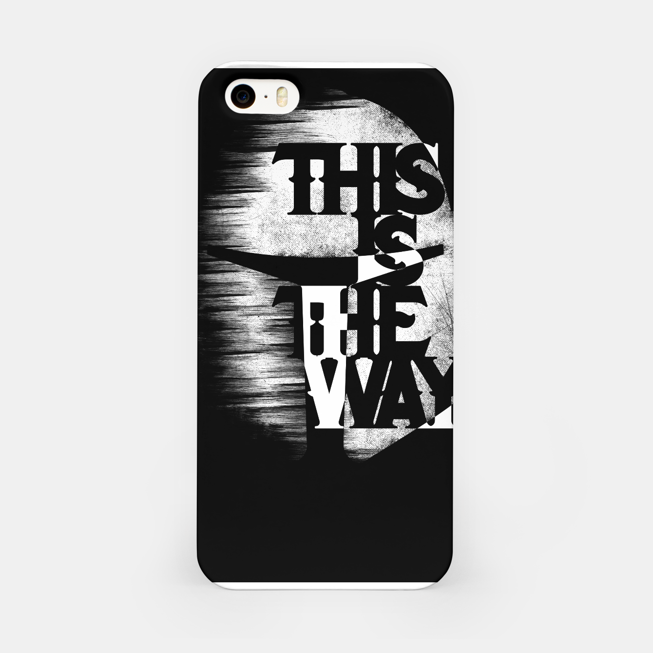 Image of This is the way iPhone Case - Live Heroes