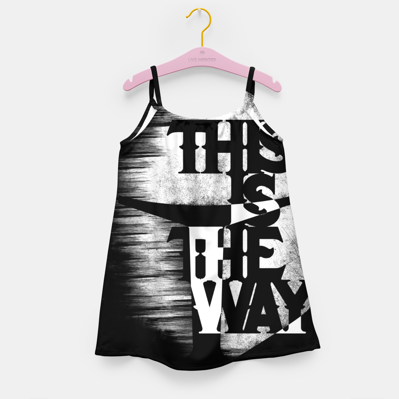 Image of This is the way Girl's dress - Live Heroes