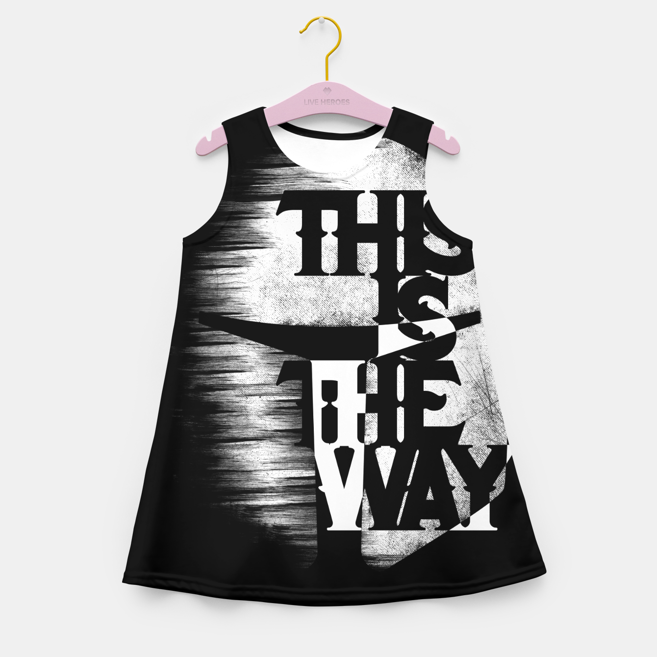 Image of This is the way Girl's summer dress - Live Heroes