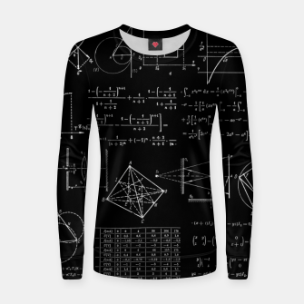 Thumbnail image of Math Women sweater, Live Heroes
