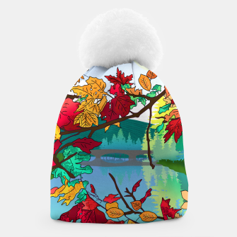 Miniatur Leaves in the park Beanie, Live Heroes