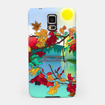 Miniatur Leaves in the park Samsung Case, Live Heroes
