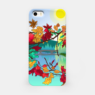 Miniatur Leaves in the park iPhone Case, Live Heroes
