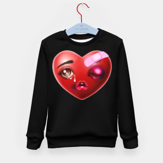 Broken Heart Kid's sweater Bild der Miniatur