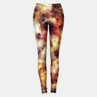 Thumbnail image of Red stone and snow Leggings, Live Heroes