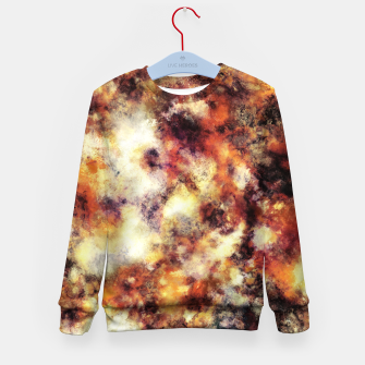 Thumbnail image of Red stone and snow Kid's sweater, Live Heroes
