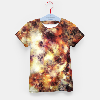 Thumbnail image of Red stone and snow Kid's t-shirt, Live Heroes