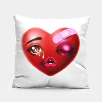 Miniatur Broken Heart Pillow, Live Heroes
