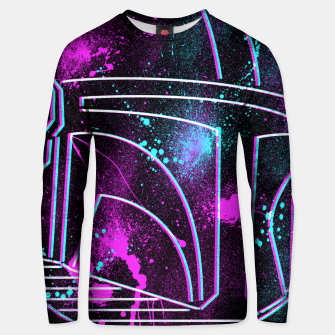 Thumbnail image of Neon Mando Unisex sweater, Live Heroes