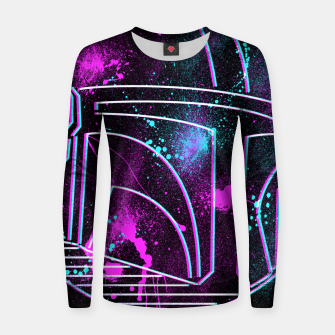 Thumbnail image of Neon Mando Women sweater, Live Heroes