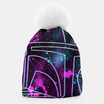 Thumbnail image of Neon Mando Beanie, Live Heroes