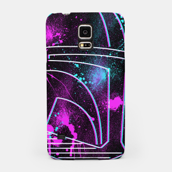 Thumbnail image of Neon Mando Samsung Case, Live Heroes