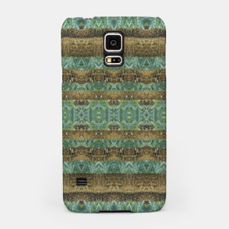 Thumbnail image of Multicolored Tribal Stripes Print Pattern Samsung Case, Live Heroes