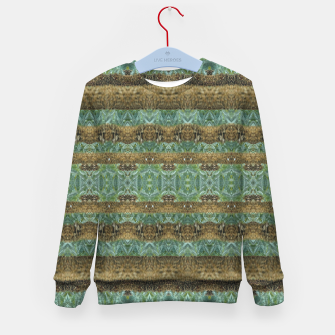 Thumbnail image of Multicolored Tribal Stripes Print Pattern Kid's sweater, Live Heroes