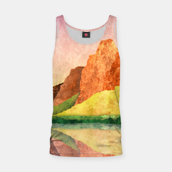 Thumbnail image of One mirror Tank Top, Live Heroes