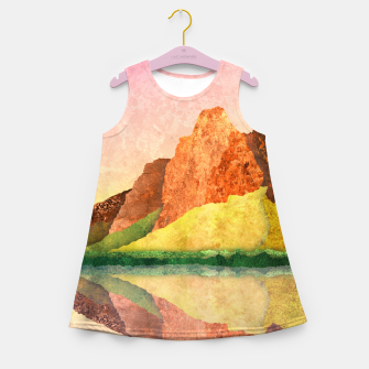 Thumbnail image of One mirror Girl's summer dress, Live Heroes