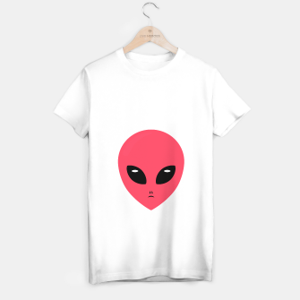 Thumbnail image of pink alien T-shirt regular, Live Heroes