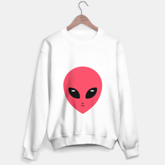 Thumbnail image of pink alien Sweater regular, Live Heroes