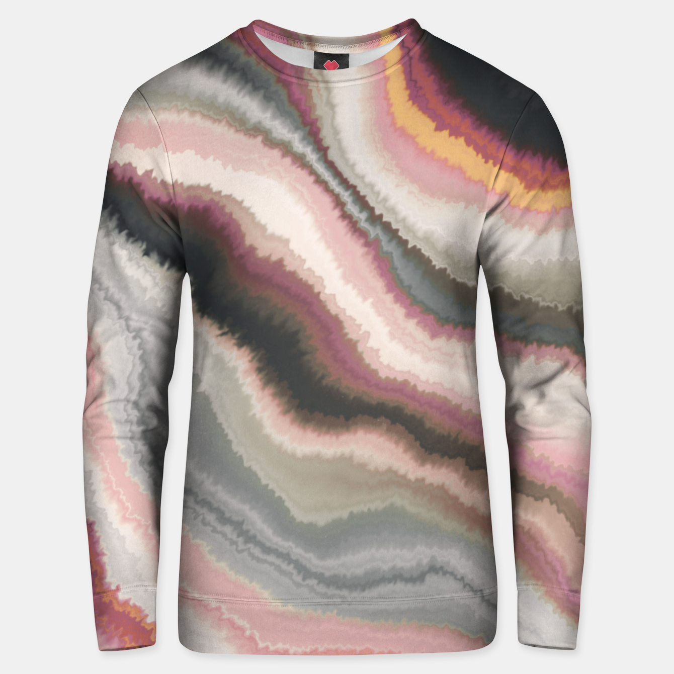 Image of Marbled watercolor brush strokes Sudadera unisex - Live Heroes