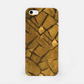 Thumbnail image of Golden Mosaic Texture Pattern iPhone Case, Live Heroes