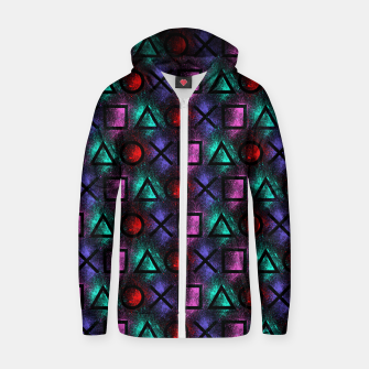 Thumbnail image of Play Zip up hoodie, Live Heroes