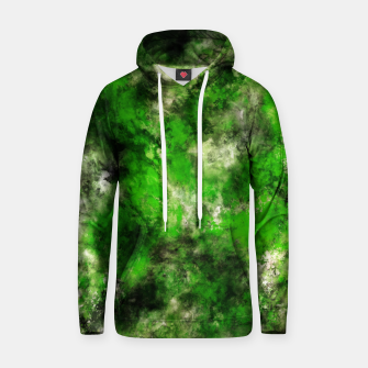 Thumbnail image of Green noise Hoodie, Live Heroes