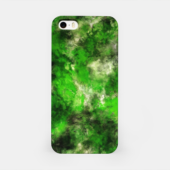Thumbnail image of Green noise iPhone Case, Live Heroes
