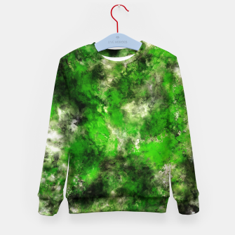 Thumbnail image of Green noise Kid's sweater, Live Heroes