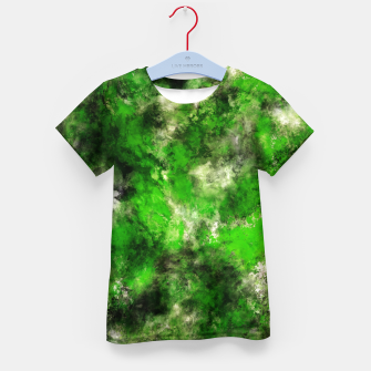 Thumbnail image of Green noise Kid's t-shirt, Live Heroes