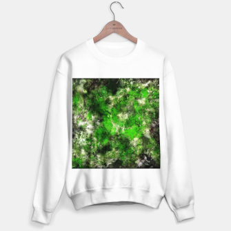 Thumbnail image of Green noise Sweater regular, Live Heroes
