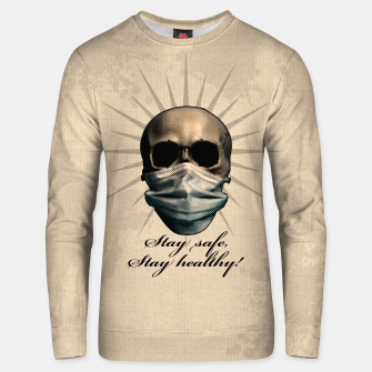 Thumbnail image of Stay safe, Stay healthy! Unisex sweatshirt, Live Heroes