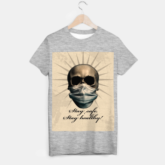 Thumbnail image of Stay safe, Stay healthy! T-Shirt regulär, Live Heroes