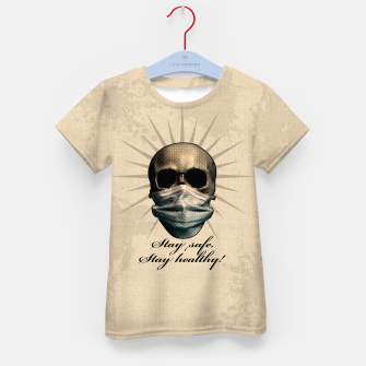 Thumbnail image of Stay safe, Stay healthy! T-Shirt für kinder, Live Heroes
