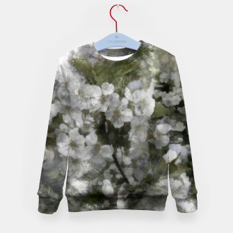 Miniatur Cherry blossoms  Kid's sweater, Live Heroes