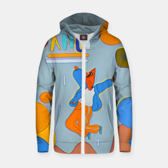 Thumbnail image of Dance Zip up hoodie, Live Heroes