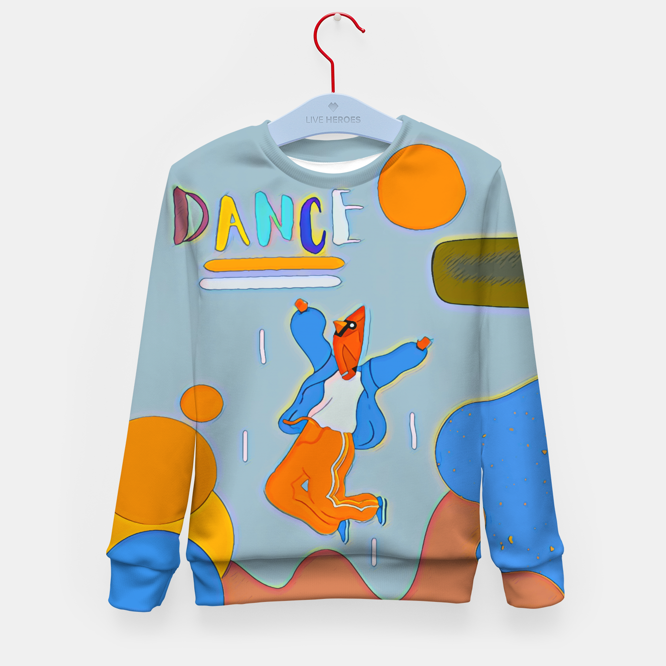 Image of Dance Kid's sweater - Live Heroes