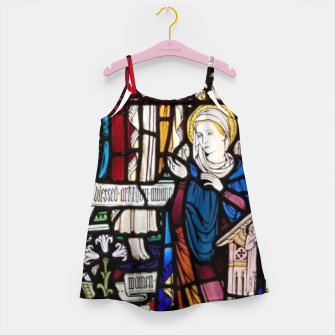Thumbnail image of Annunciation Church window Mädchenkleid, Live Heroes