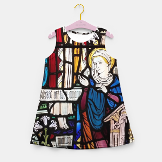 Thumbnail image of Annunciation Church window Mädchen-Sommerkleid, Live Heroes