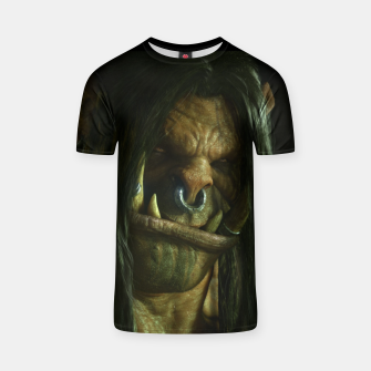 Thumbnail image of World of Warcraft Grom Hellscream T-shirt, Live Heroes
