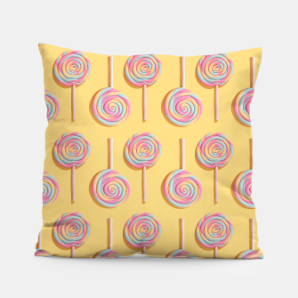 Sweet Lollipops  Pillow Bild der Miniatur