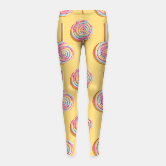 Sweet Lollipops  Girl's leggings Bild der Miniatur