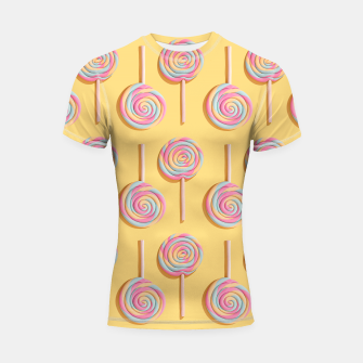 Thumbnail image of Sweet Lollipops  Shortsleeve rashguard, Live Heroes