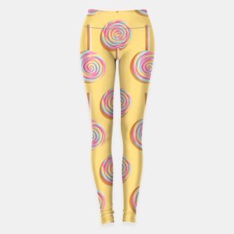 Sweet Lollipops  Leggings Bild der Miniatur
