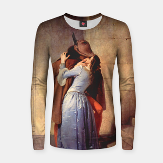 Thumbnail image of The Kiss by Francesco Hayez Women sweater, Live Heroes
