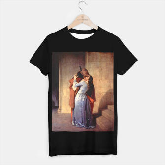 Miniatur The Kiss by Francesco Hayez T-shirt regular, Live Heroes