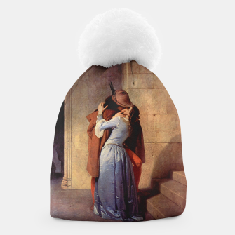 Miniatur The Kiss by Francesco Hayez Beanie, Live Heroes