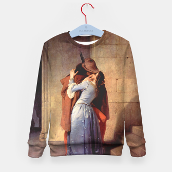 Miniatur The Kiss by Francesco Hayez Kid's sweater, Live Heroes