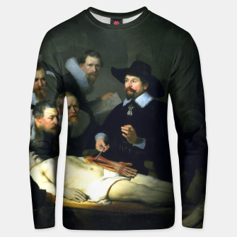 Miniatur The Anatomy Lesson of Dr. Nicolaes Tulp Unisex sweater, Live Heroes